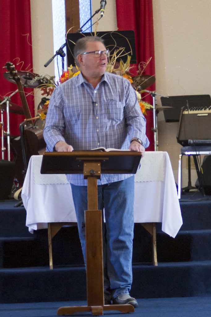 Pastor Lee Nicholson